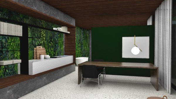 rundum grünes Design für ein Traumhaus