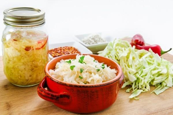 Sauerkraut fermentieren gesund