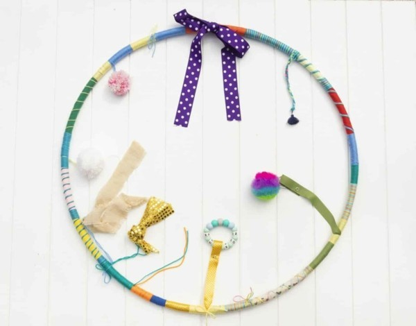 sensorik hula hoop für babys