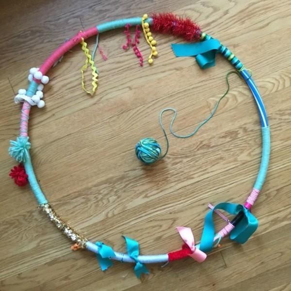 sensorik hula hoop selber machen