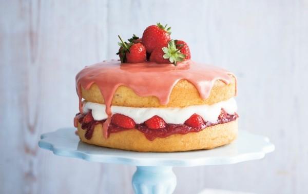 somerlicher kuchen ideen zum nachmachen mit erdbeeren