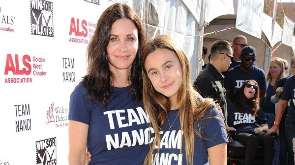 tochter und mutter courtney cox