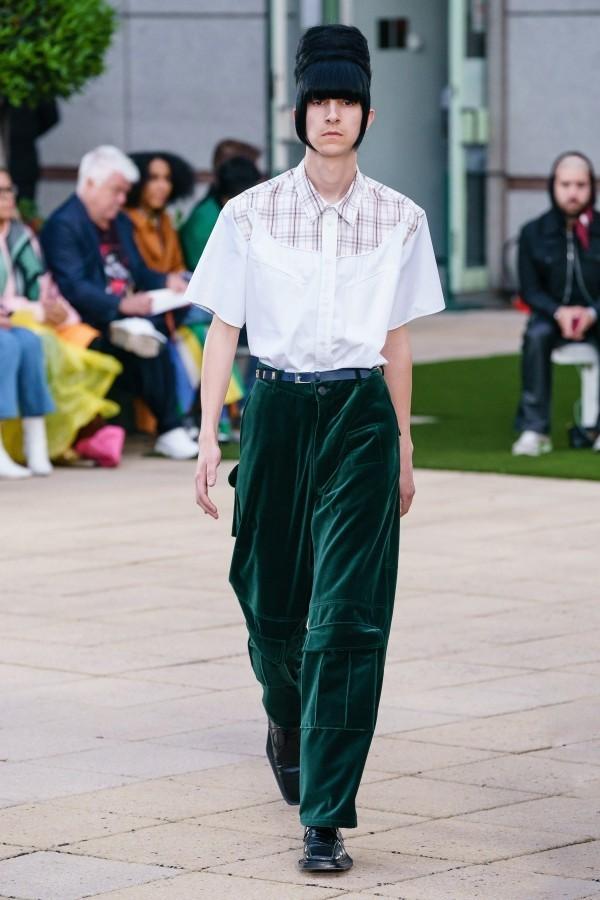 tolle grüne Hose Modetrends