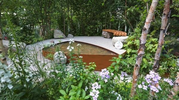 tolles schwimmbad - tolle Gartengestaltung
