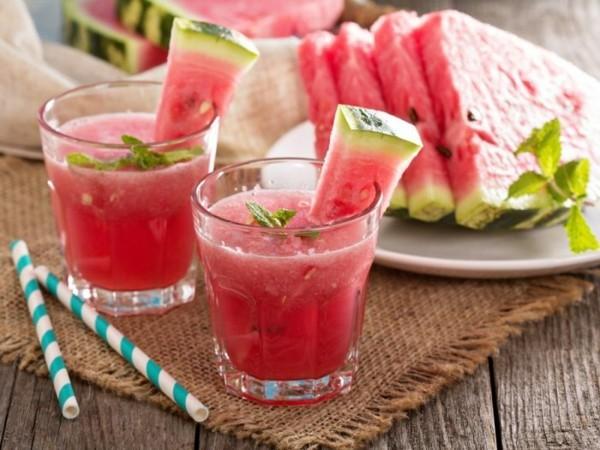 wassermelon rezepte frisch gepresster saft
