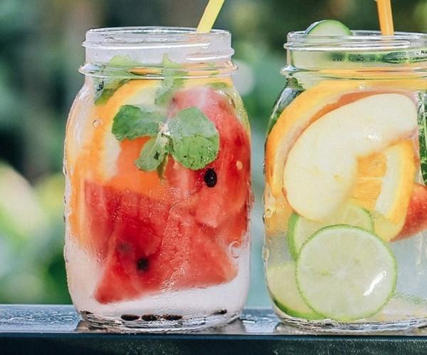 wassermelone rezepte detox wasser