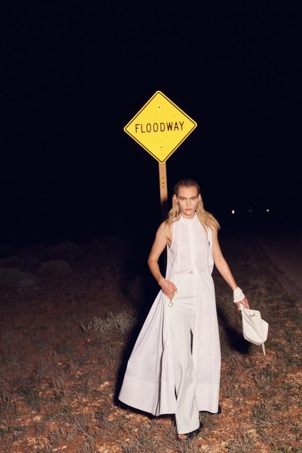 weißes Outfit Damenkleider