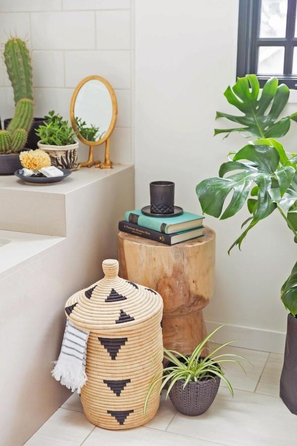 wohnideen - tolle Pflanzen-Ideen fürs Bad