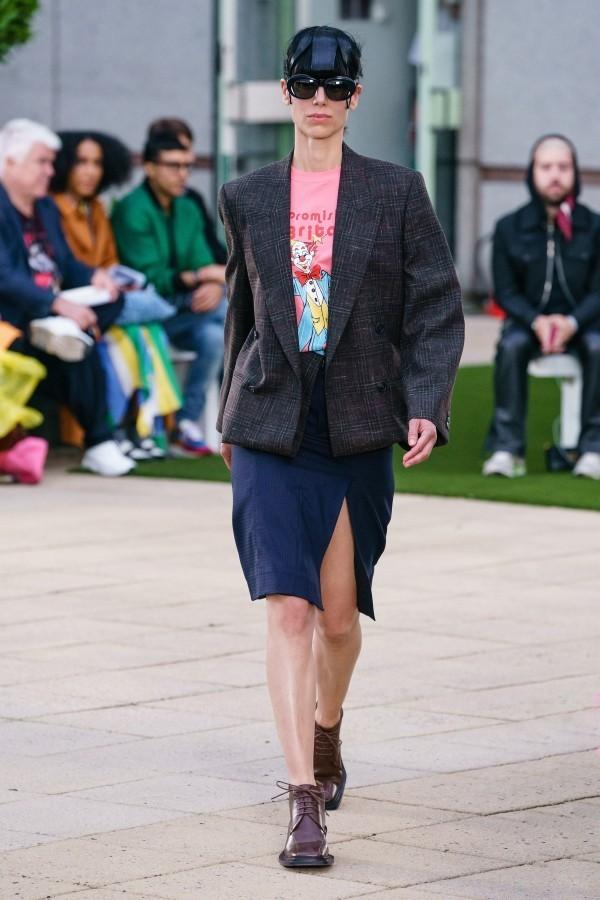wunderbarer kurzer Outfit Modetrends