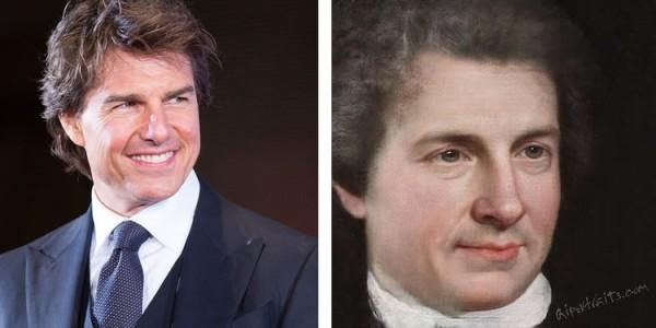 AI Portraits verwandelt Ihr Selfie in ein Renaissance Porträt tom cruise