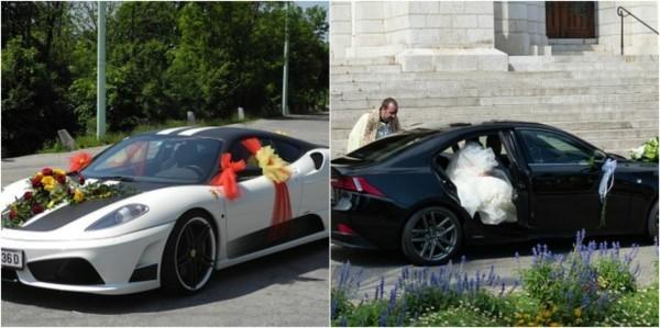 Autoschmuck Hochzeit zwei tolle Inspirationen