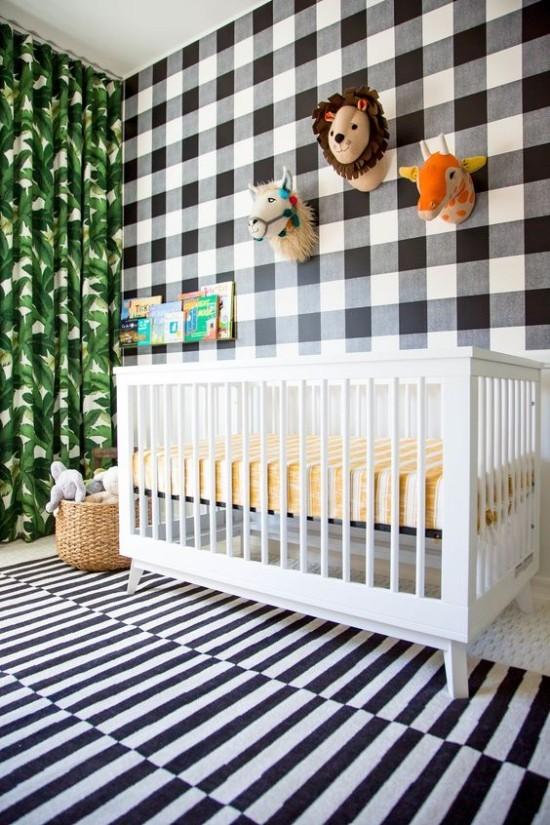 Babyzimmer Deko Ideen den Raum nicht überladen mit Deko wirkt nicht gut zu bunt