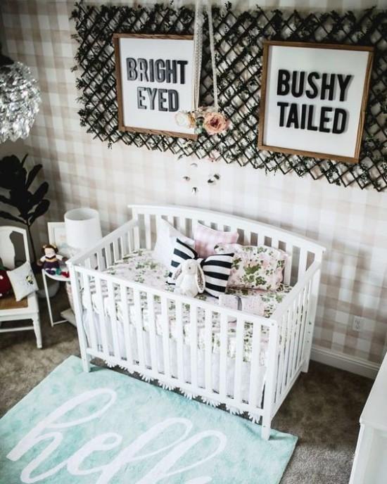 Babyzimmer Deko Ideen niedliche Raumgestaltung mit Stil Liebe Behaglichkeit ausstrahlen