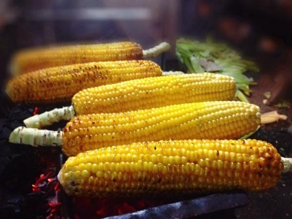 Ballaststoffreiche Lebensmittel Liste Mais geröstet