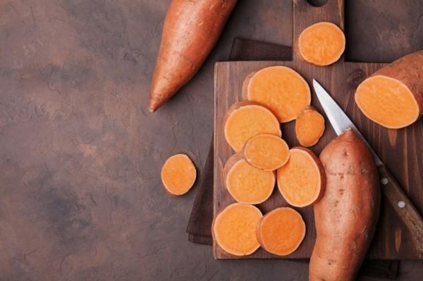 Ballaststoffreiche Lebensmittel Liste Süßkartoffeln