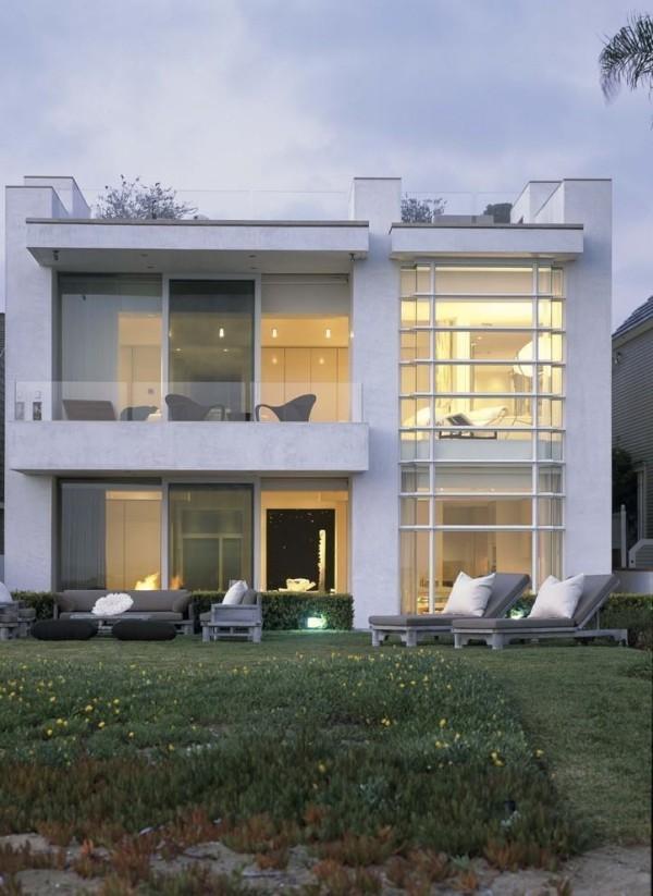 Beleuchtung aus dem Inneren moderne Häuser