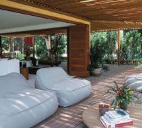 Mehr als 50 Inspirationen für Ihre Traumhaus-Veranda aus Holz