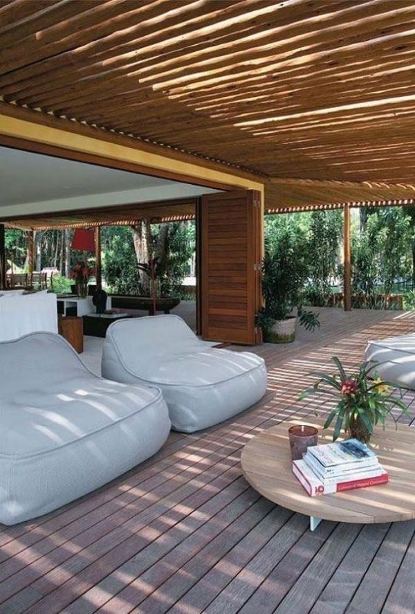Bequeme Sitzplätze - ein Traumhaus