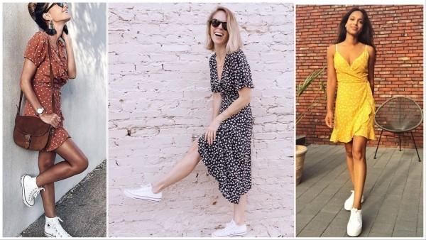 Damenkleider - drei aktuelle Modelle