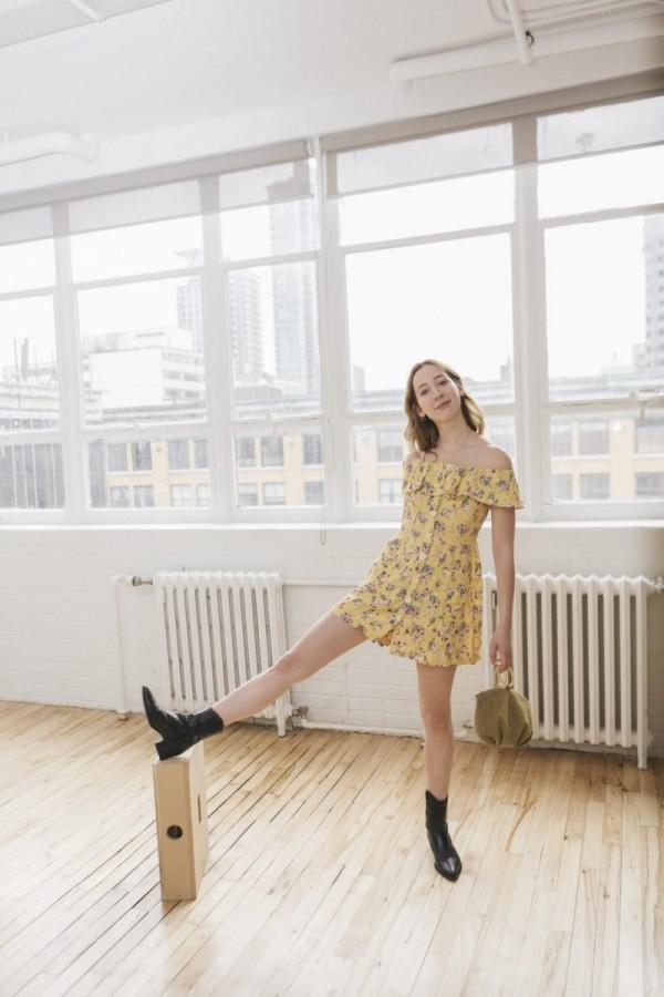 Damenkleider - gelbe Kleider