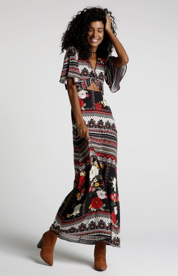 Damenkleider - tolle ethnische Muster