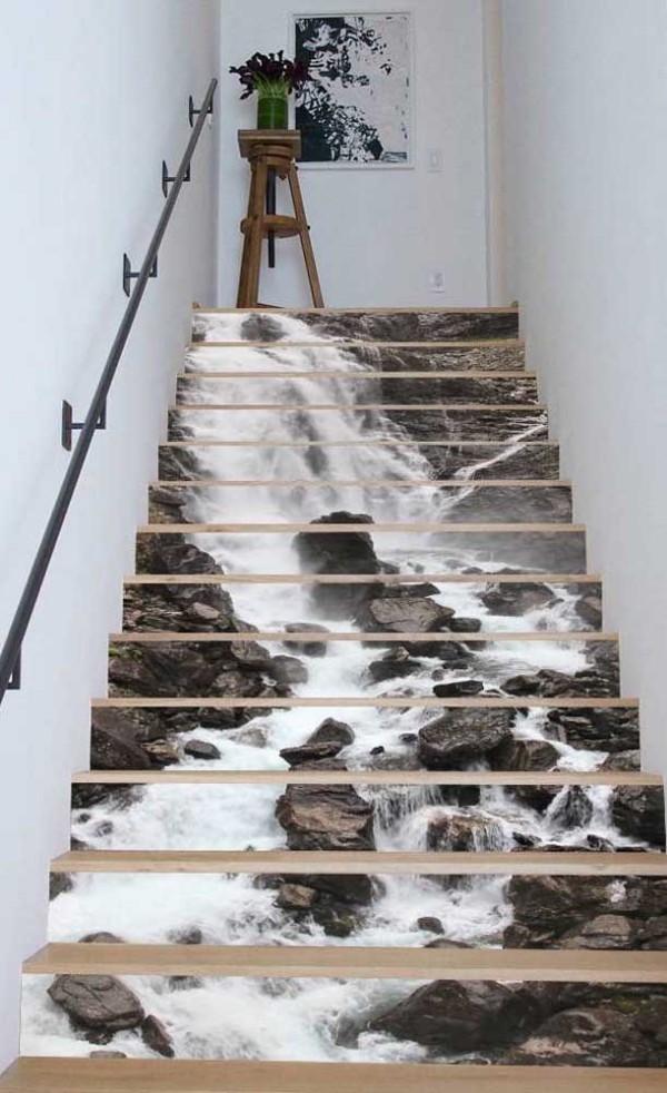 Design-Inspiration - Fluss an den Stufen