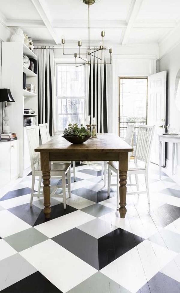 Design-Inspiration in schwarz und weiß