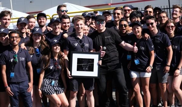 Deutsches Team gewinnt zum vierten Mal SpaceX Hyperloop Pod Rennen die gewinner deutschland