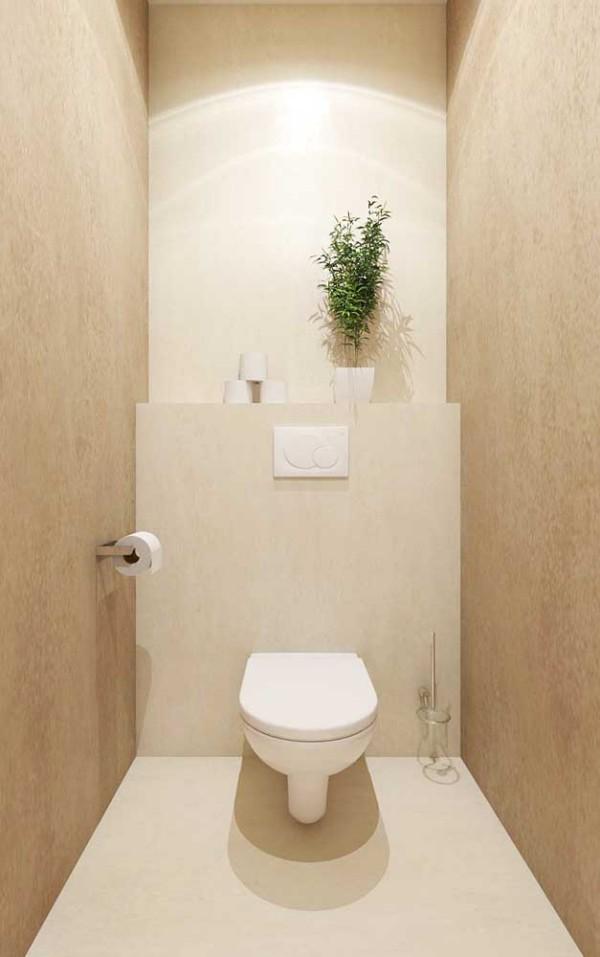 Elfenbein- eine tolle Toilette