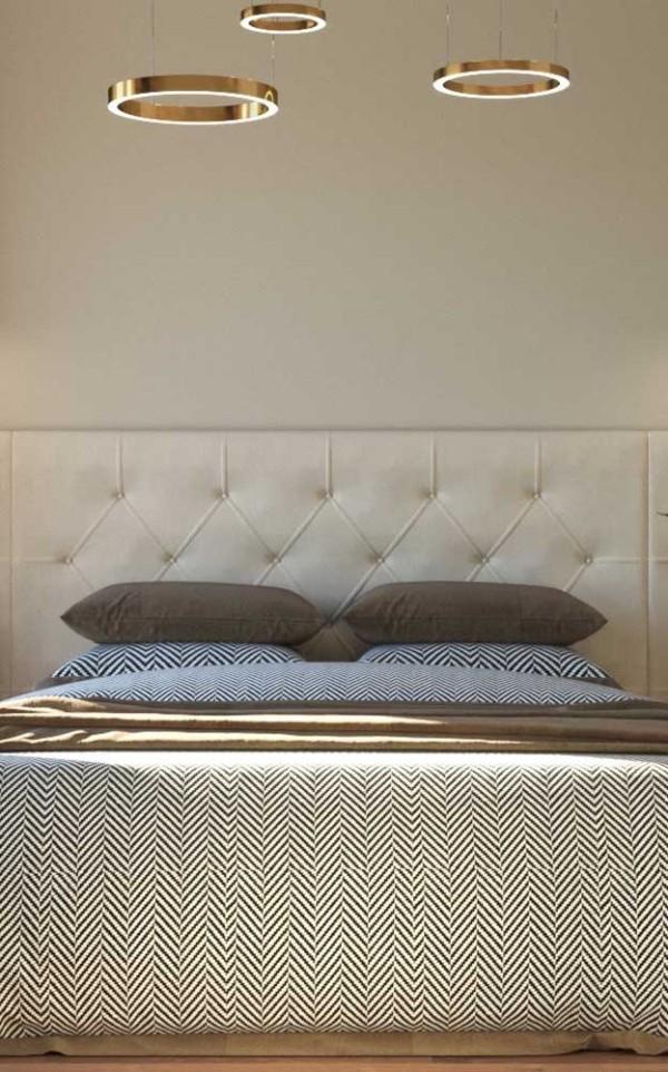 Elfenbein - elegantes Schalfzimmer