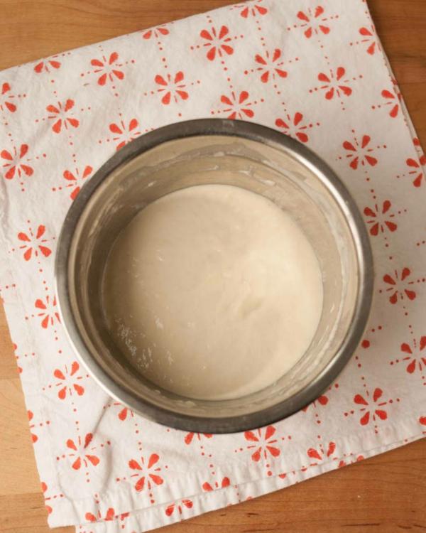 Englische Muffins Rezept englischer Muffin Zutaten mischen