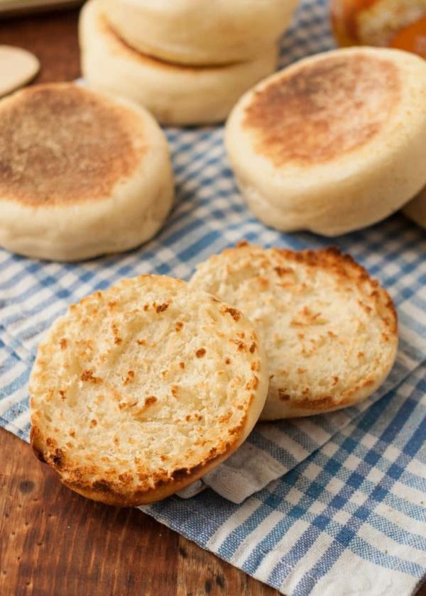 Englische Muffins Rezept englischer Muffin