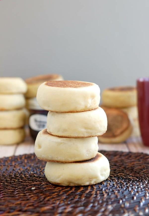 Englische Muffins selber backen Rezept