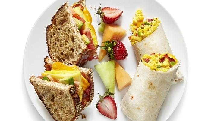 Food Trends 2020 gesunde Snacks Wraps zum Mitnehmen