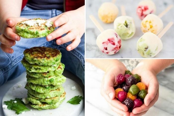 Food Trends 2020 neue Essgewohnheiten grüne Pfannkuchen viel frisches Obst