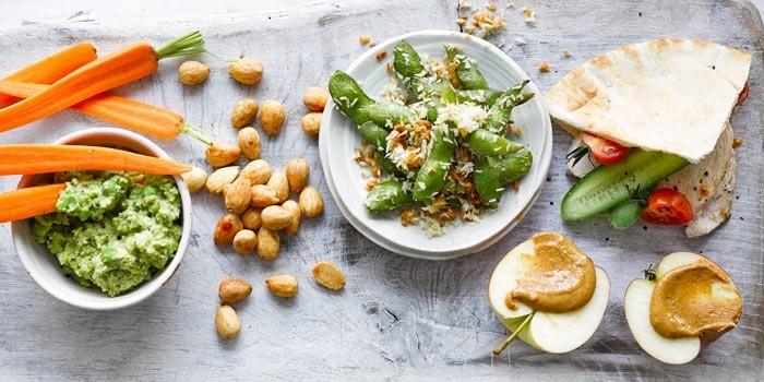Food Trends 2020 vegetarisches und veganes Essen wird bevorzugt