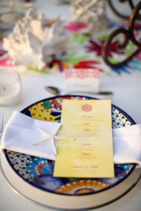 Gelbe Ideen für die Hochzeitsdeko