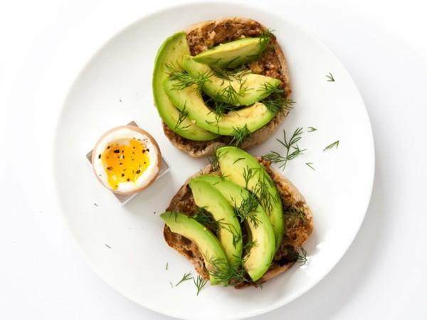 Gesunde Frühstücksideen für Kinder Avocado