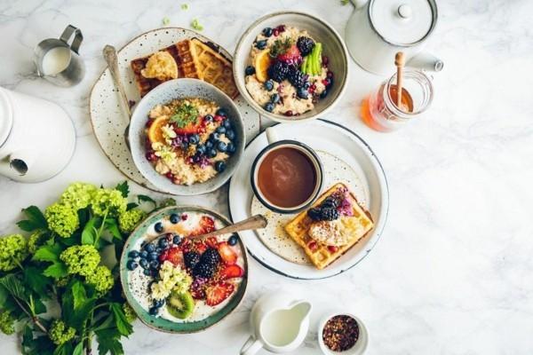 Gesunde Frühstücksideen für Kinder Haferflocken über Nacht einweichen lassen