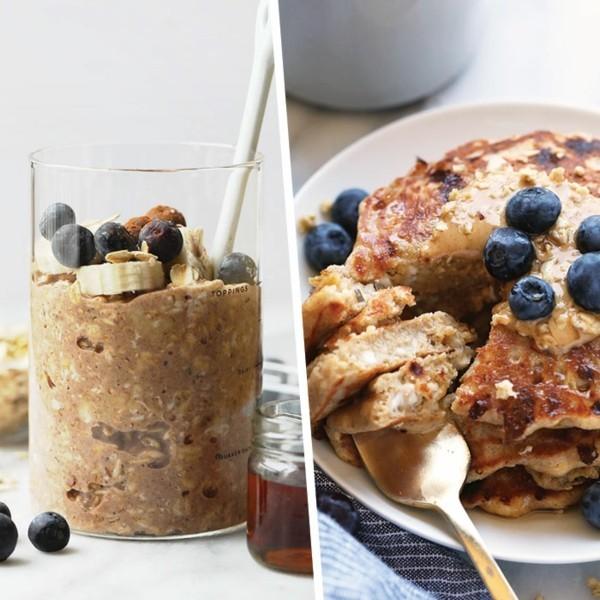 Gesunde Frühstücksideen für Kinder Pfannkuchen im Glas