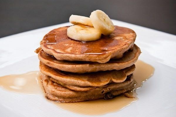Gesunde Frühstücksideen für Kinder amerikanische Pfannkuchen