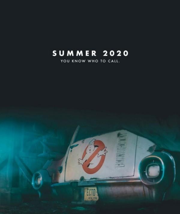 Ghostbusters 3 kehrt 2020 mit Originalbesetzung zurück teaser trailer auto ecto 1