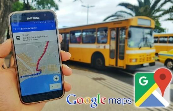 Google Maps kann bestimmen, wie voll Ihr Bus oder Zug sein wird die beste route wählen
