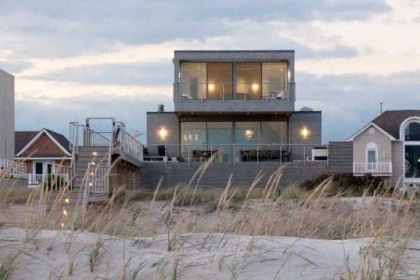 Haus auf dem Sand moderne Häuser