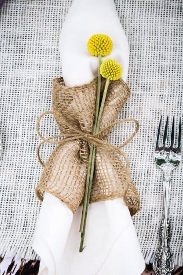 Hochzeitsdeko mit Blumendeko