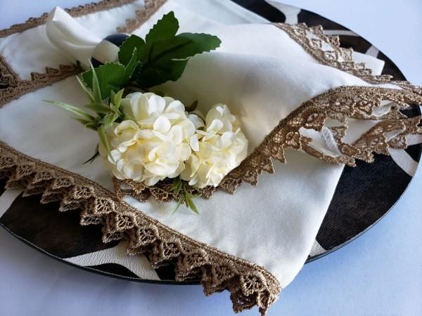 Hochzeitsdeko mit echten Blumen