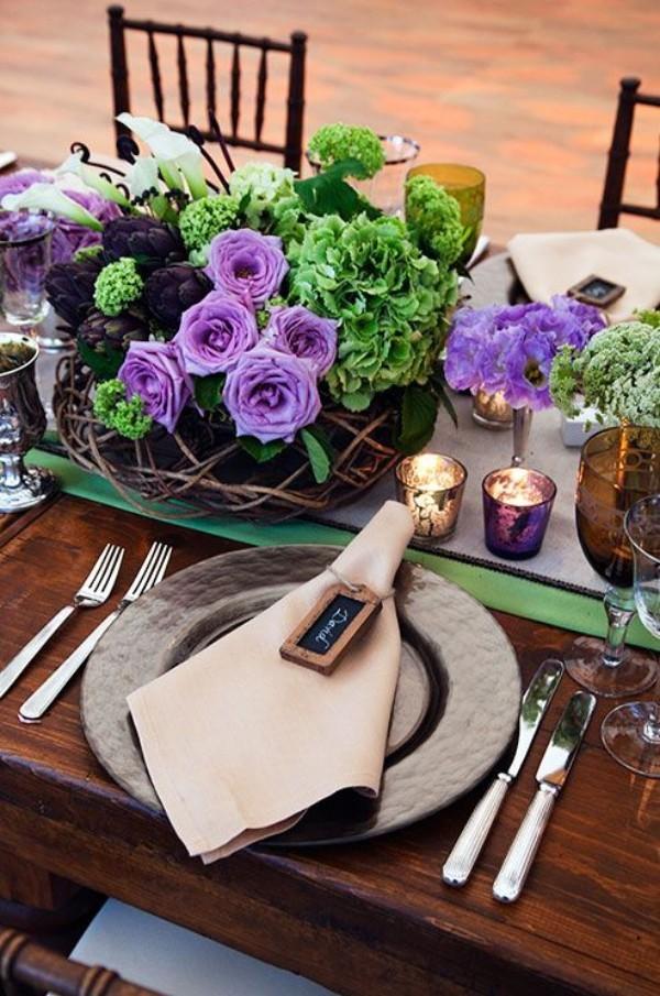 Hochzeitsdeko - super luxuriöse Idee