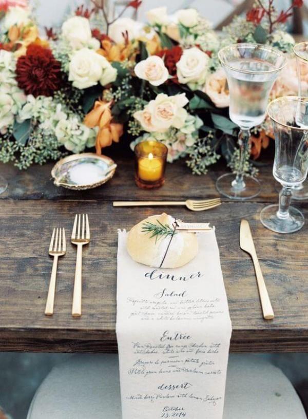 Hochzeitsdeko - tolle Servietten-Ideen