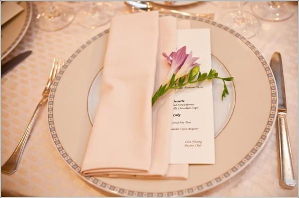 Hochzeitsdeko - wunderbare Idee in Beige