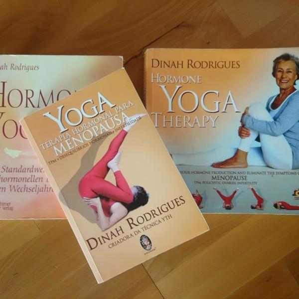 Hormonyoga Therapie Dinah Rodrigues Buch Frauen Gesundheit
